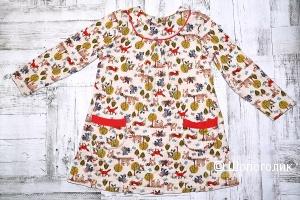 """Платье """"Little world of alena"""", 110-116 см"""