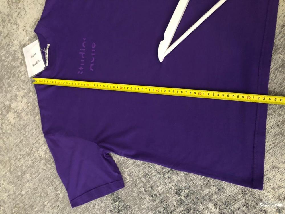 Футболка Acne Studios Violet purple, S-M-L