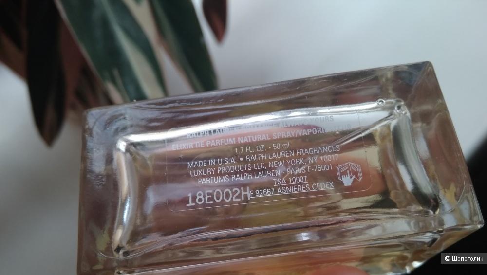 ROMANCE ALWAYS YOURS RALPH LAUREN elixir de parfum 50 мл