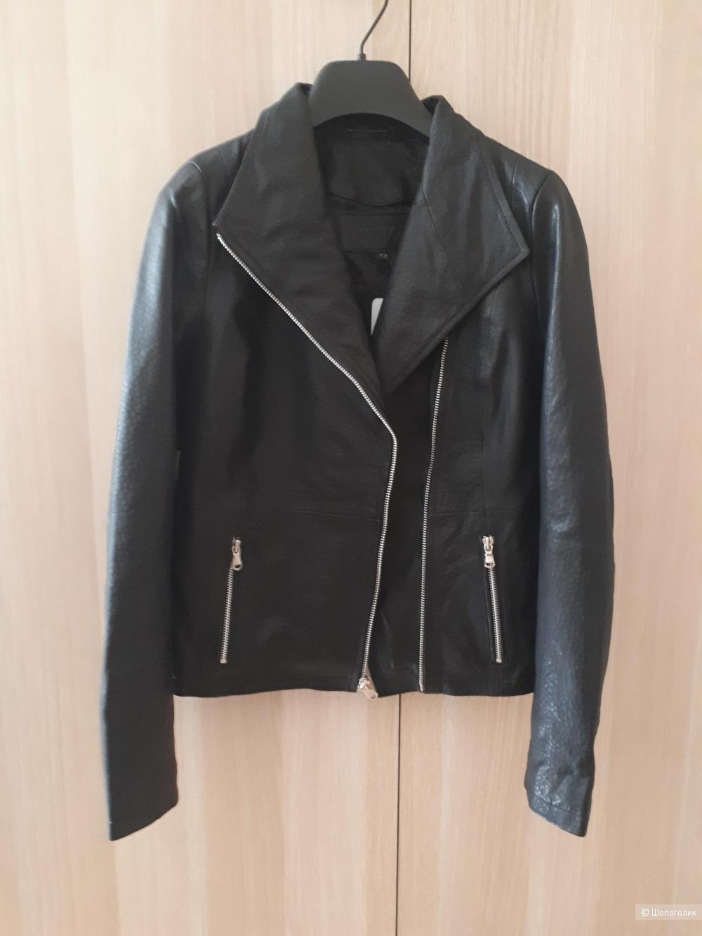 Кожаная куртка Corazze, размер 42