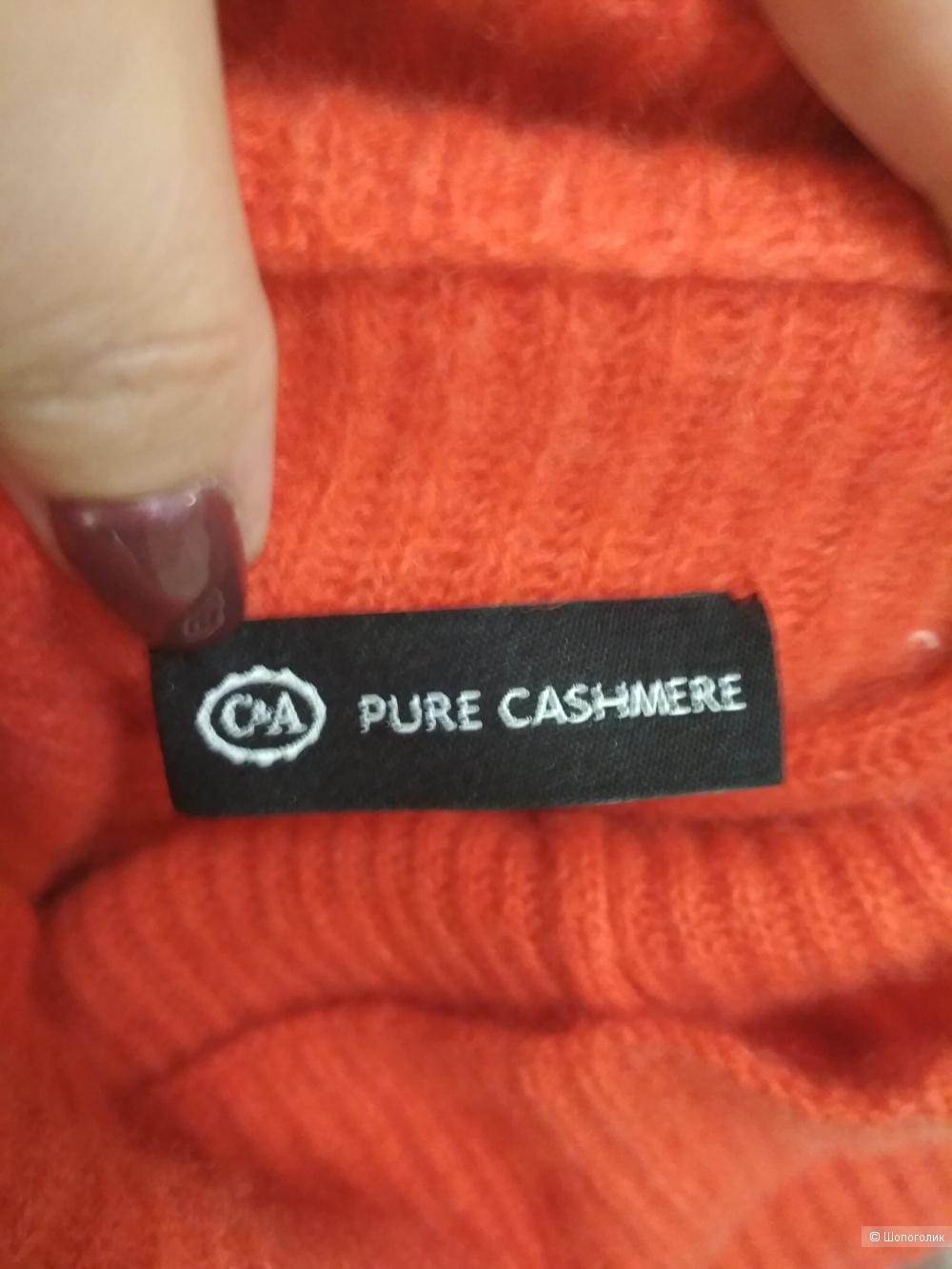 Кашемировый джемпер Pure cashmere, р. 46-48