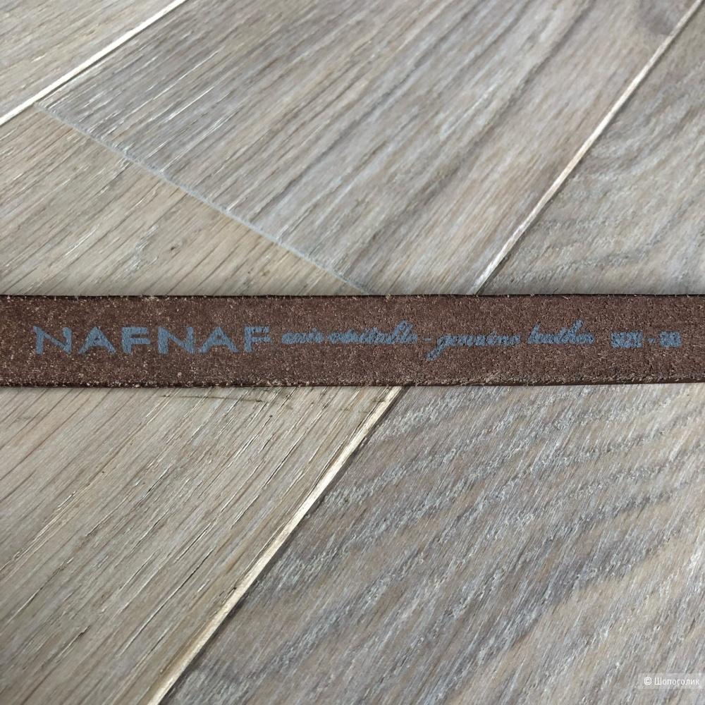 Кожаный ремень NAF NAF size 80