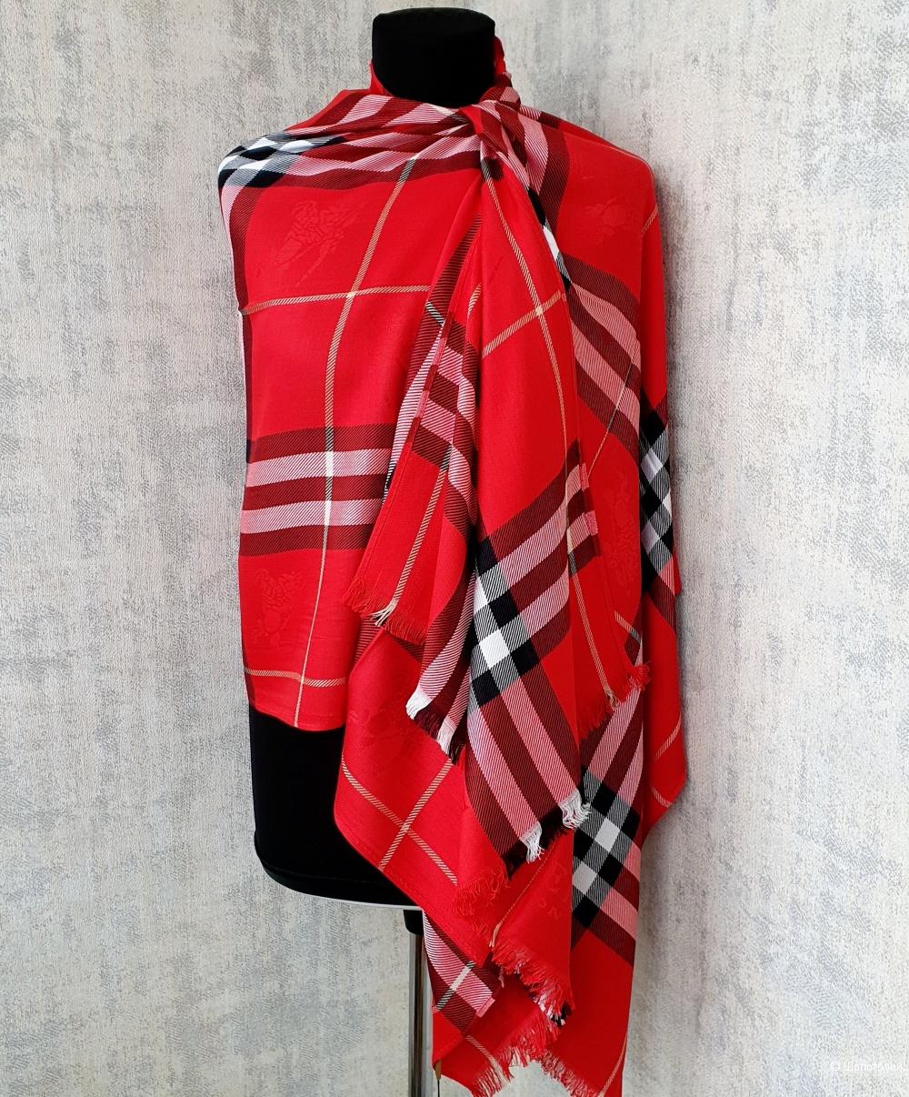 Палантин Burberry классический (красный)