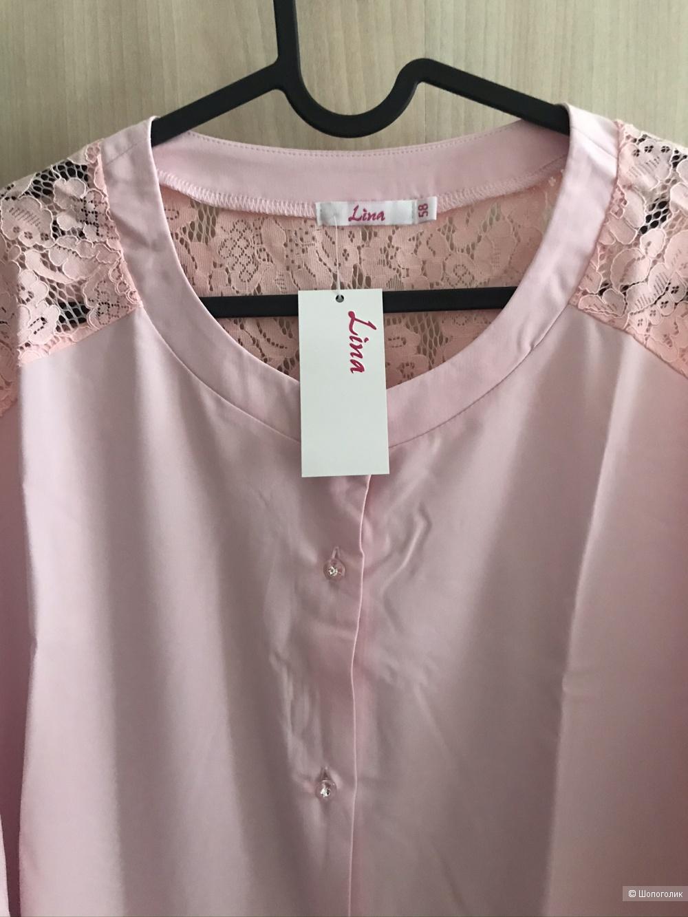 Блузка фирма Lina размер 58