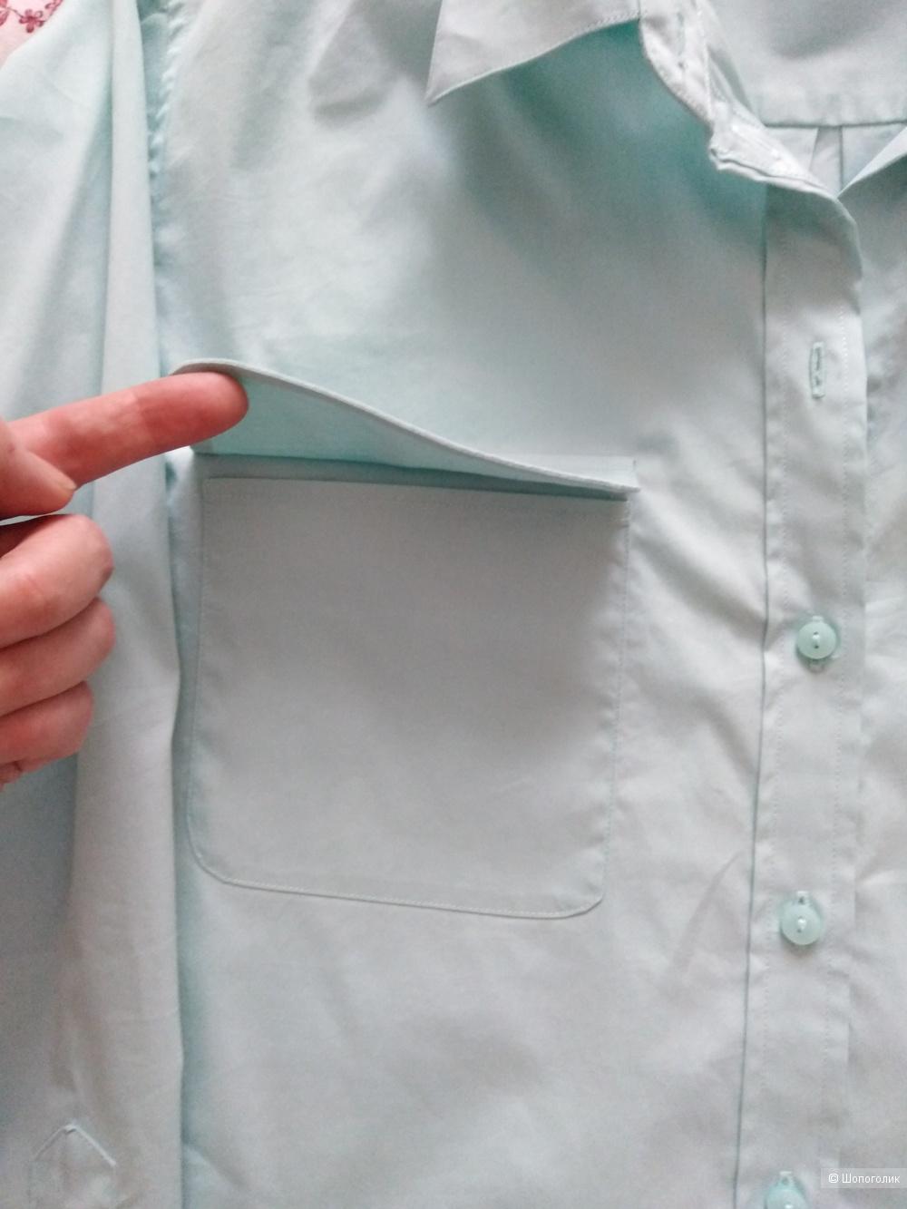 Рубашка оверзайз Karl Lagerfeld 42-44+ размер