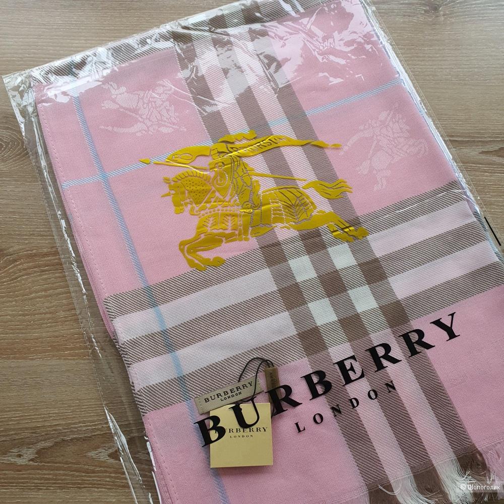 Палантин Burberry классический (розовый)