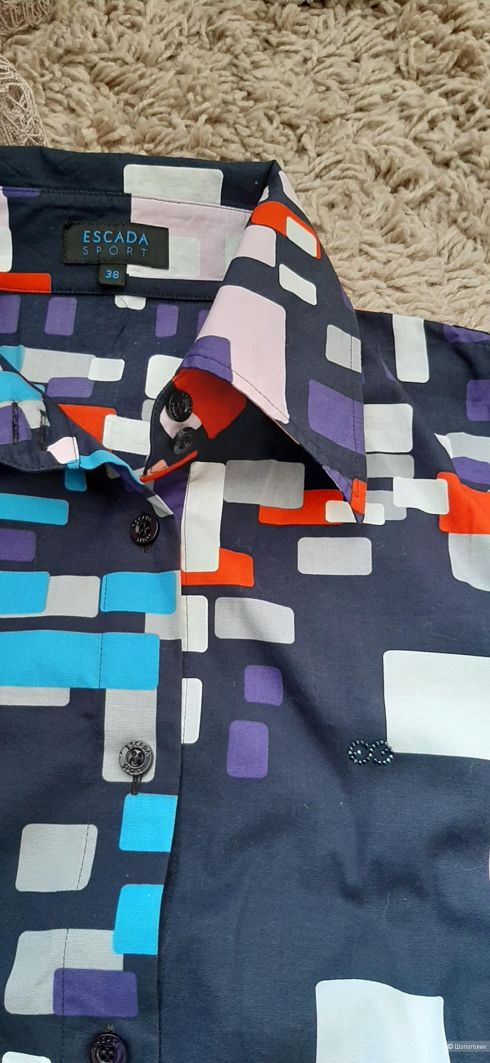 Рубашка Escada, размер 38 eur (42-46 рос)