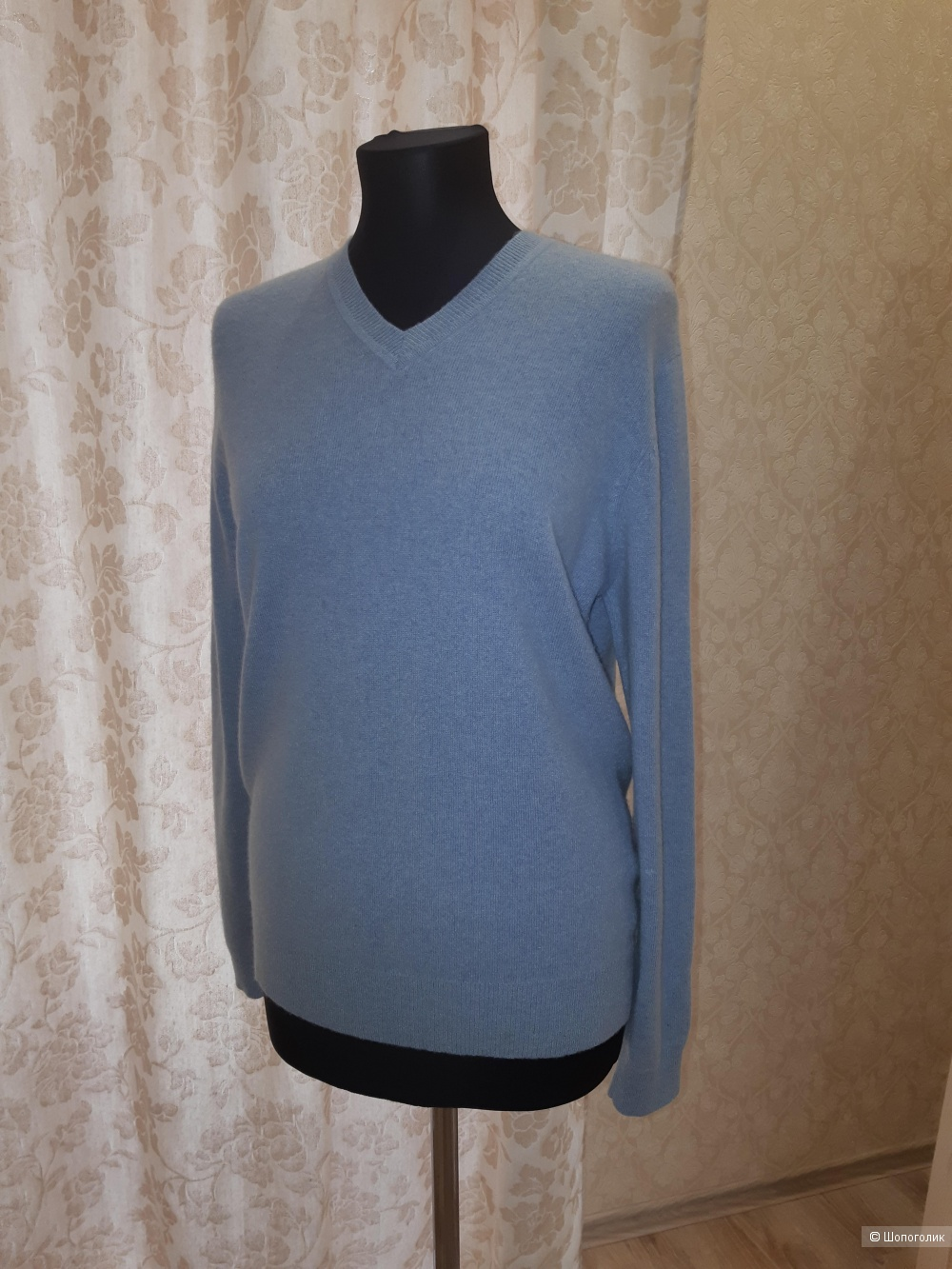 Кашемировый пуловер george collection, размер 46/48/50