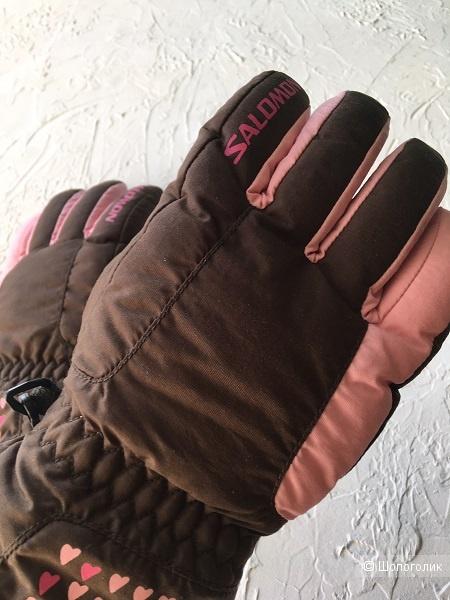 Горнолыжные перчатки Salomon / р.6-6,5