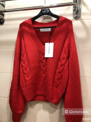 Пуловер с косами IVYREVEL TESSA KNIT.Размер S-L.