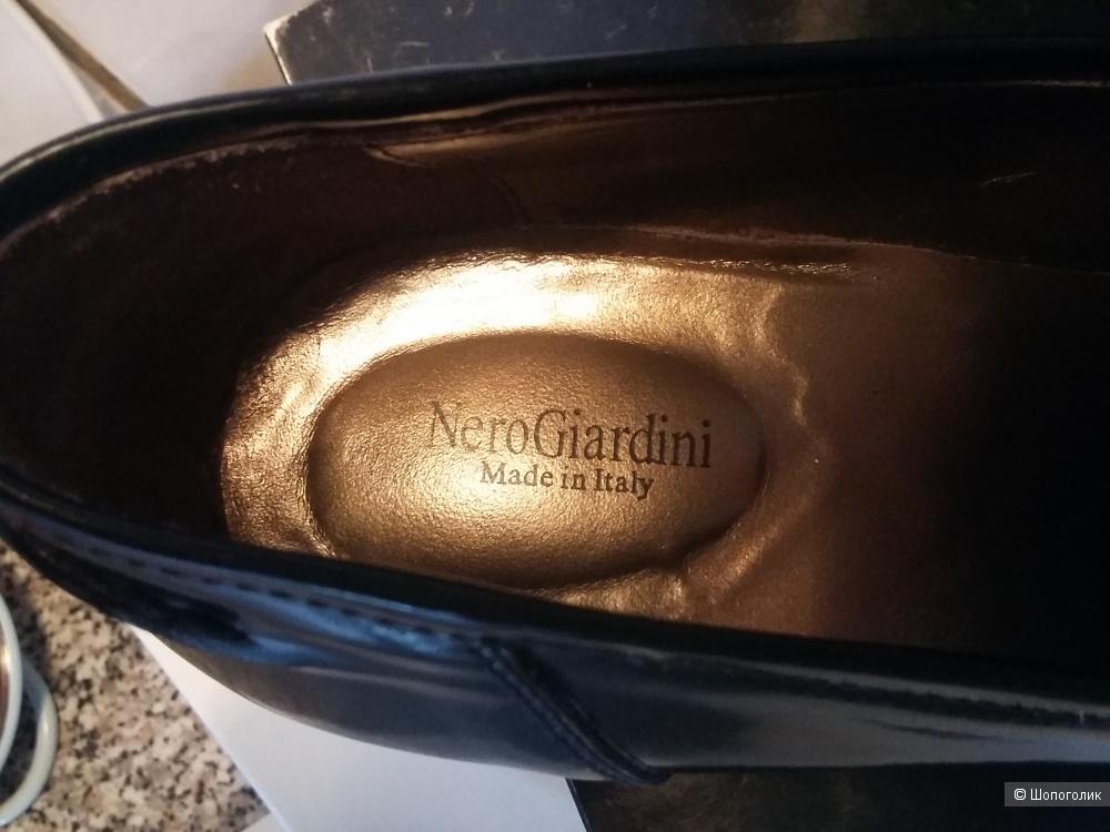 Кожаные туфли Nero Giardini,40 размер.