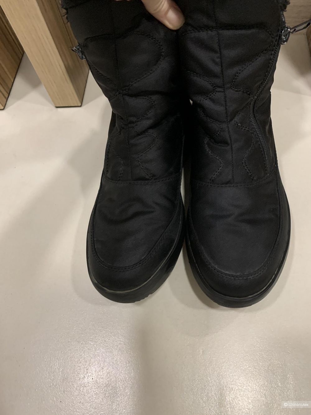 Сапоги зимние Walkmaxx, размер 38