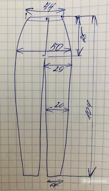 Брюки CAVALLI CLASS,44IT(46russ)