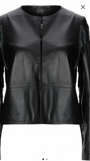 Куртка кожаная, OTTOD'AMO,  46 IT на 44-46 RUS