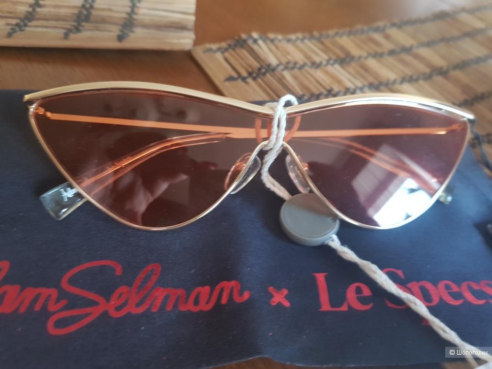 "ADAM SELMAN X LE SPECS Солнцезащитные очки ""кошачий глаз"""