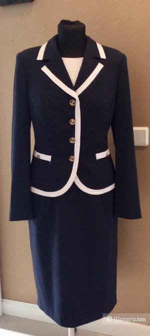 Комплект: платье-футляр+жакет MNatali р.48