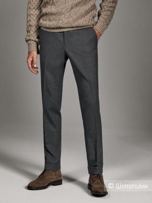 Мужские брюки Massimo Dutti,100% шерсть, евр.50 на 54-56