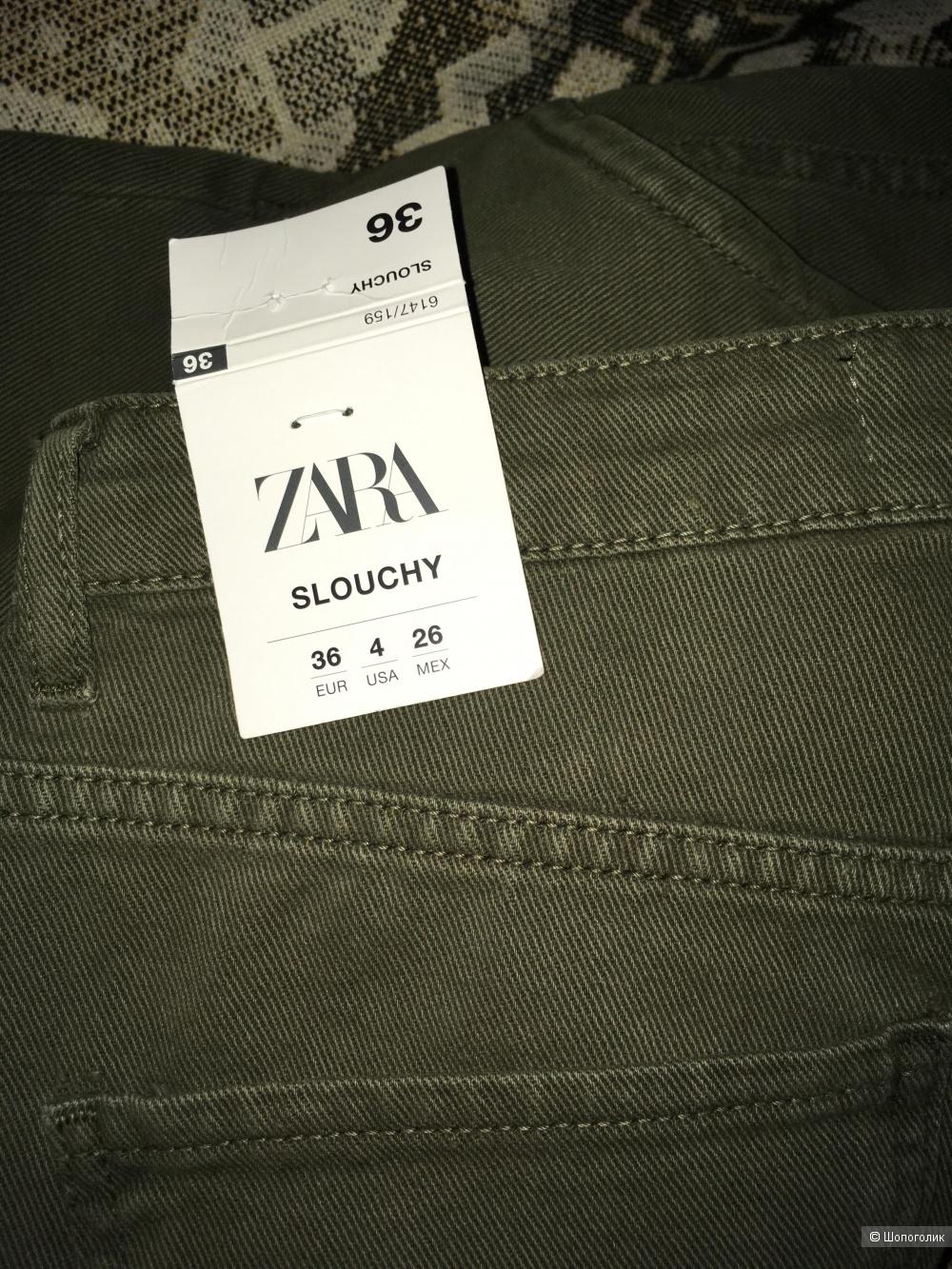 Джинсы Zara slouchy размер 36
