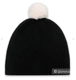 Кашемировая шапка с помпоном DUFFY