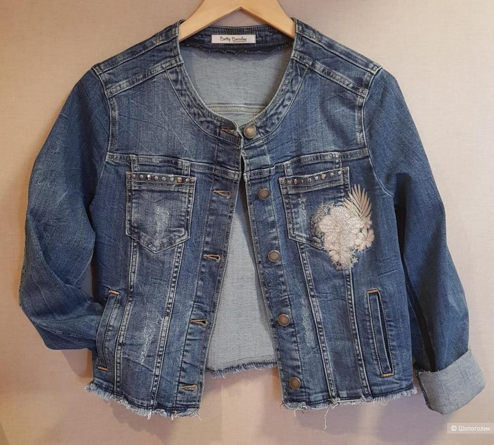 Куртка джинсовая Betty Barclay. Размер L