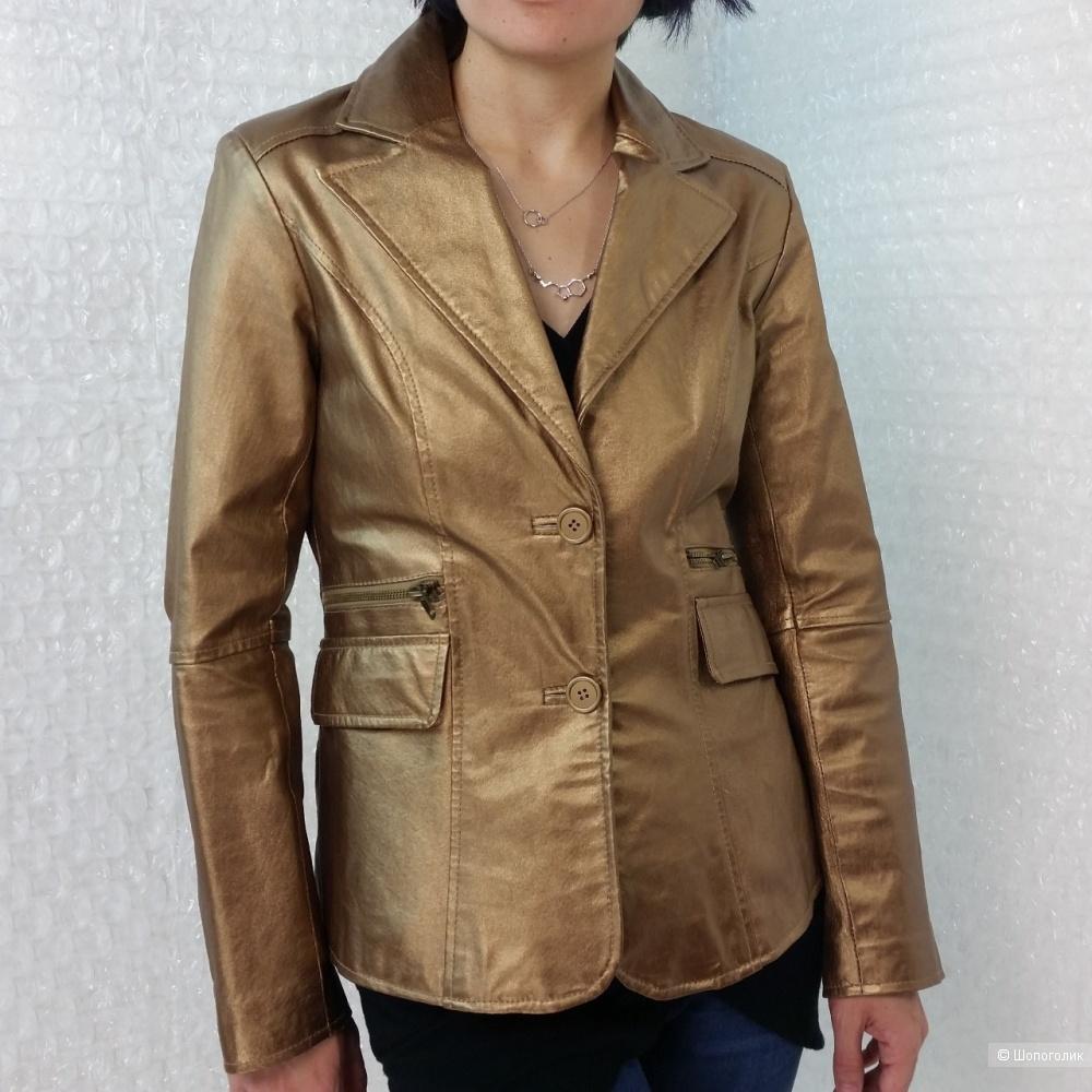 Кожаная куртка Metrostyle,8US(44-46)