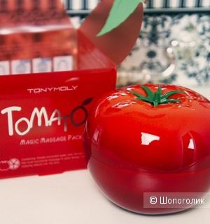 Осветляющая и выводящая токсины маска TONY MOLY Tomatox Magic White Massage Pack 80 грамм