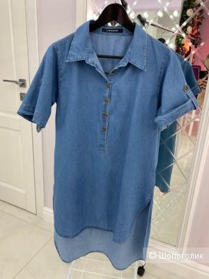 Рубашка-туника La Reina Blance, размер 48.