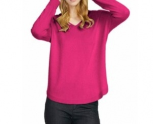 Пуловер Howahrde размер М цвет светло - розовый