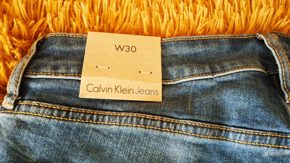 Шорты джинсовые Calvin Klein,W 30