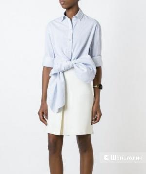 Льняная юбка hm, размер 48+-