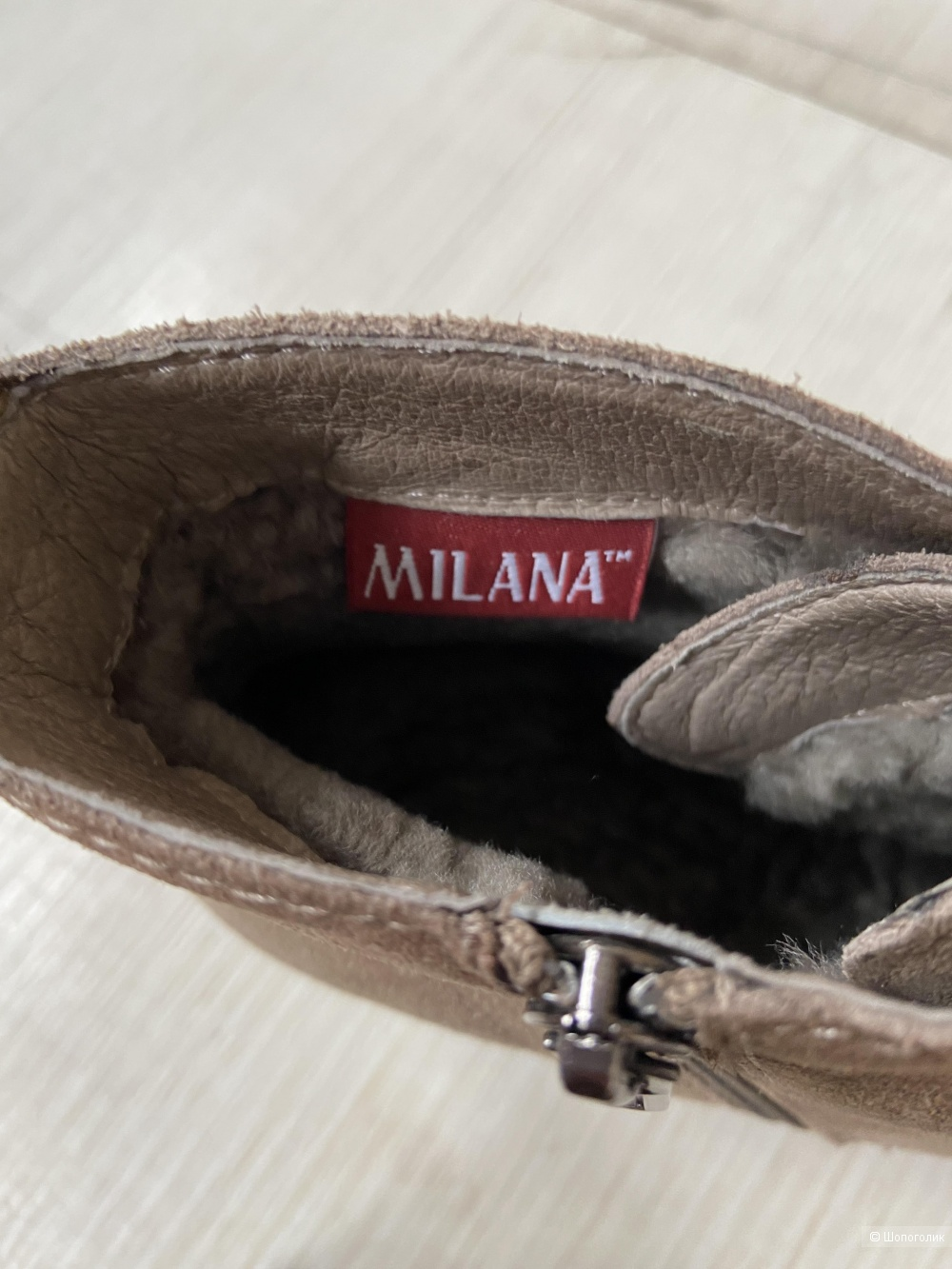 Ботинки Milana, размер 37