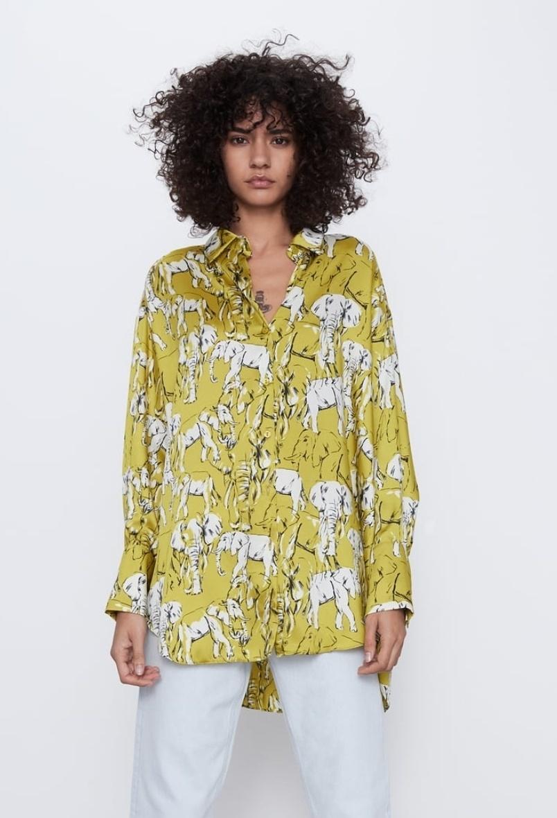 Блуза Zara  размер s-m