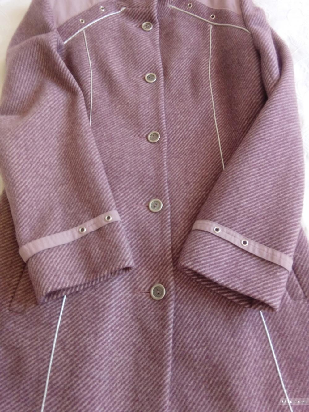 Пальто демисезонное женское 44 разм Аврора