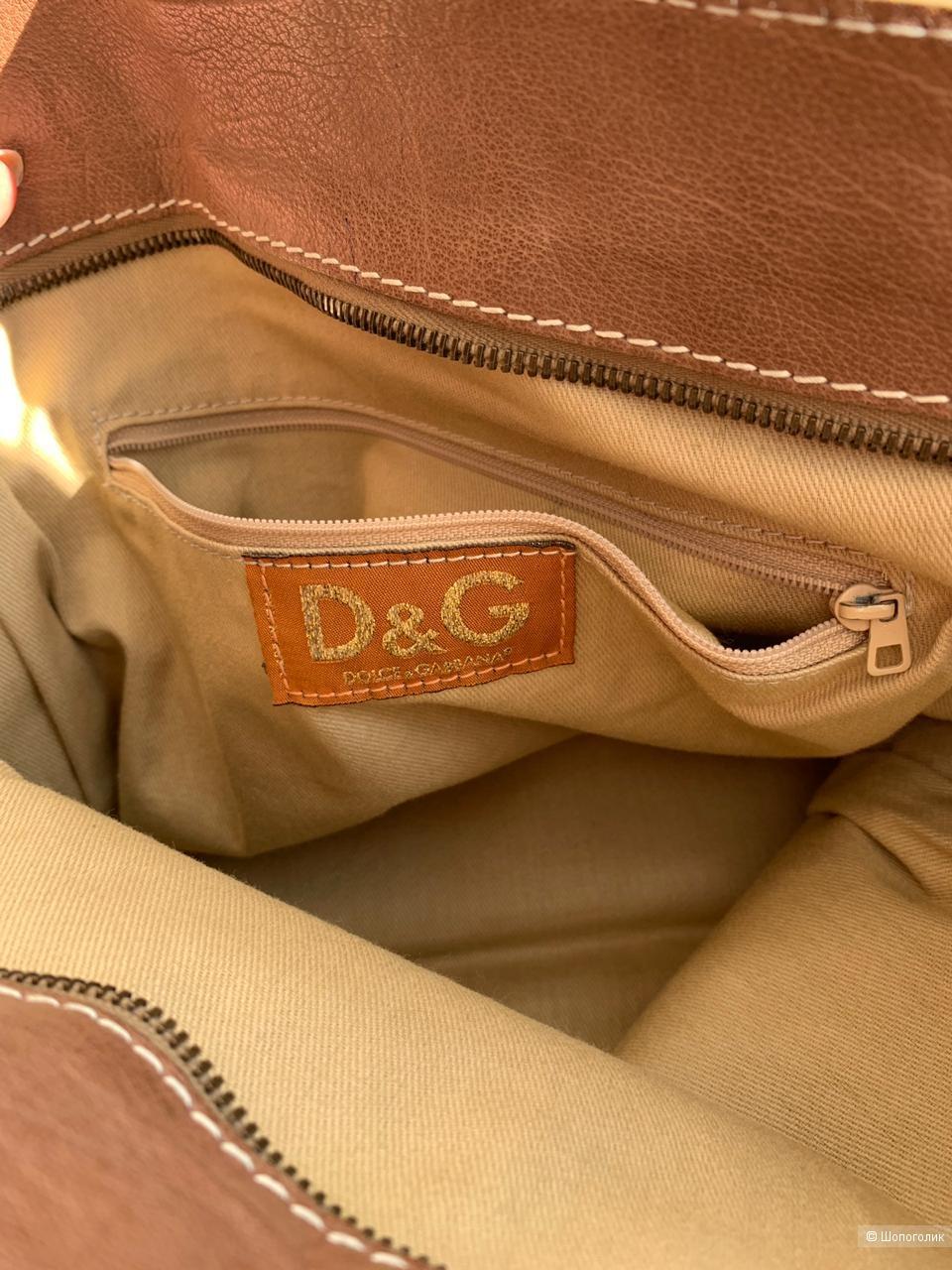 Сумка тоут D&G old
