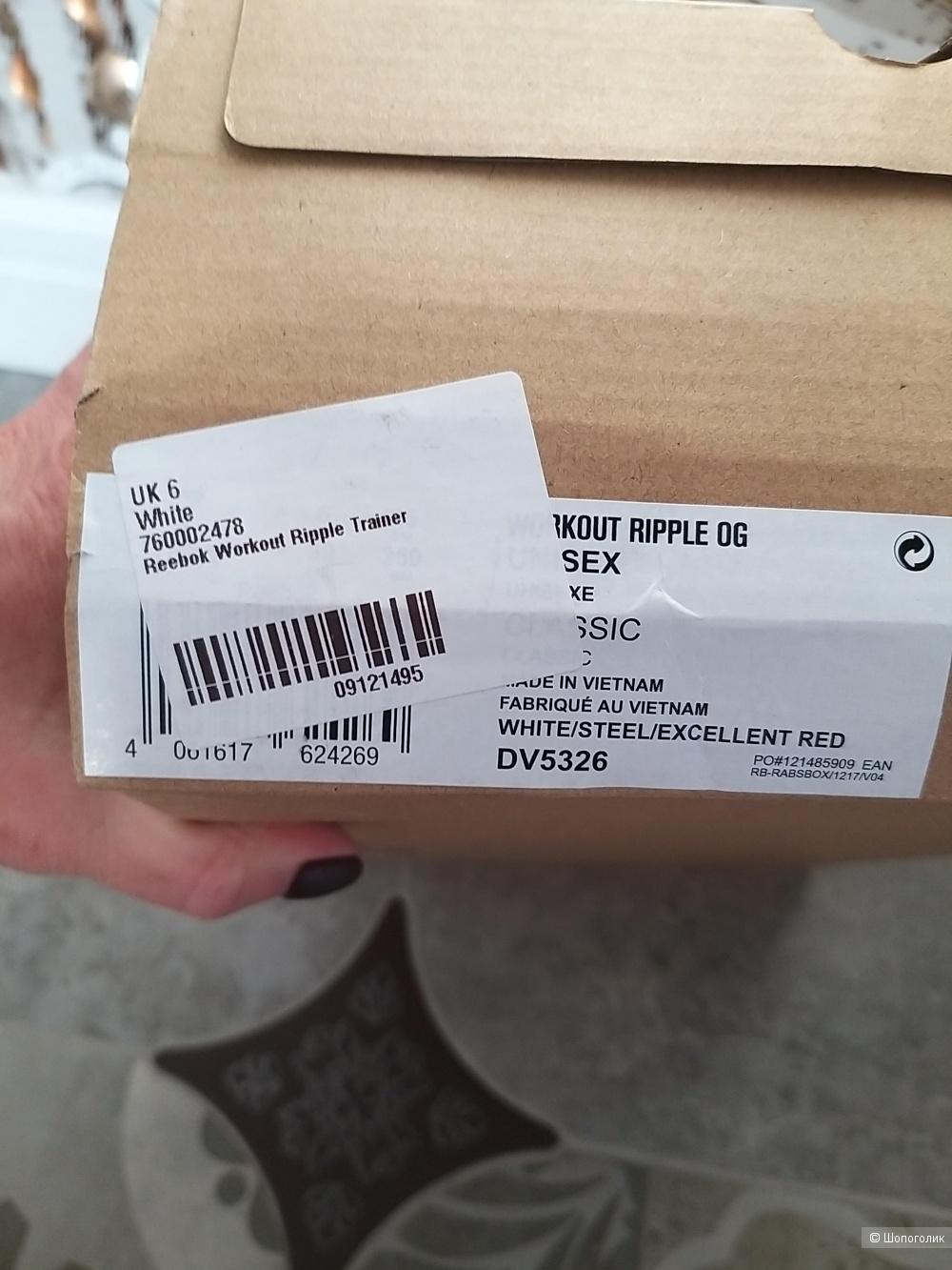 Кроссовки женские Reebok ,размер 39