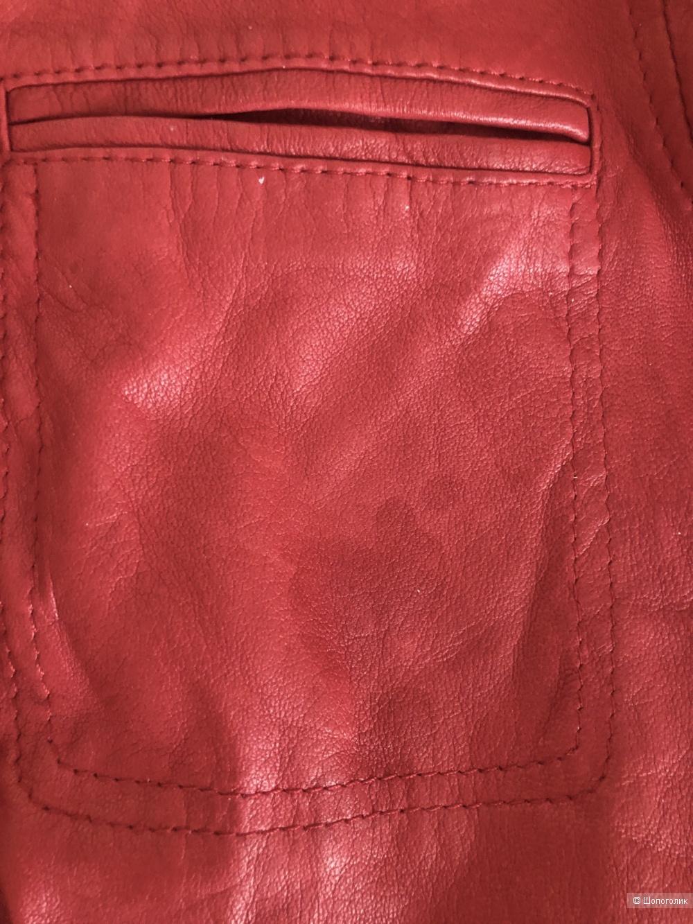 Кожаная куртка Patrizia Pepe, размер S.