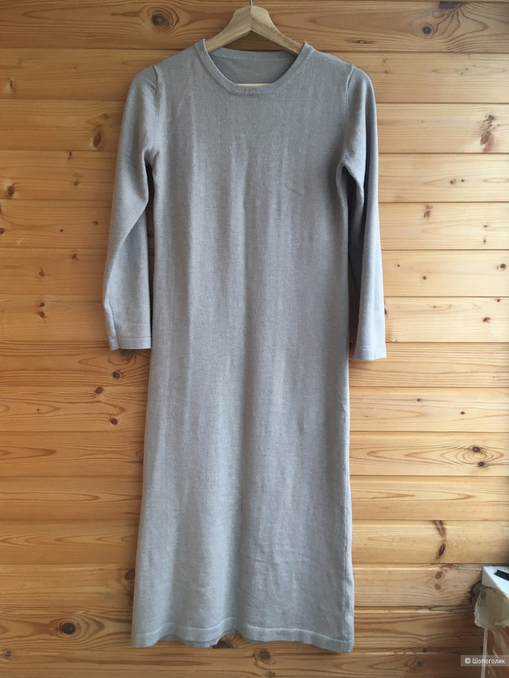 Платье трикотажное, Алиэкспресс, на 42-44