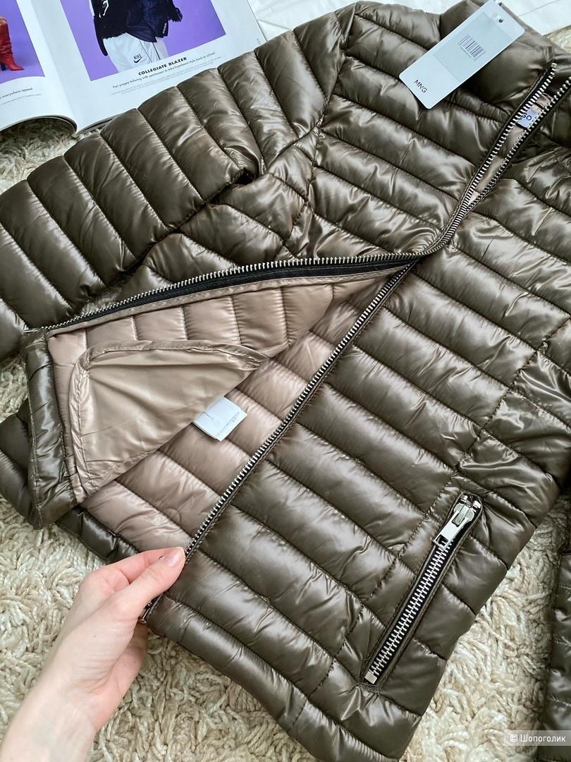 Стеганая куртка mango, размер M