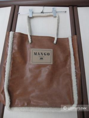 Сумка-шоппер бренд Mango