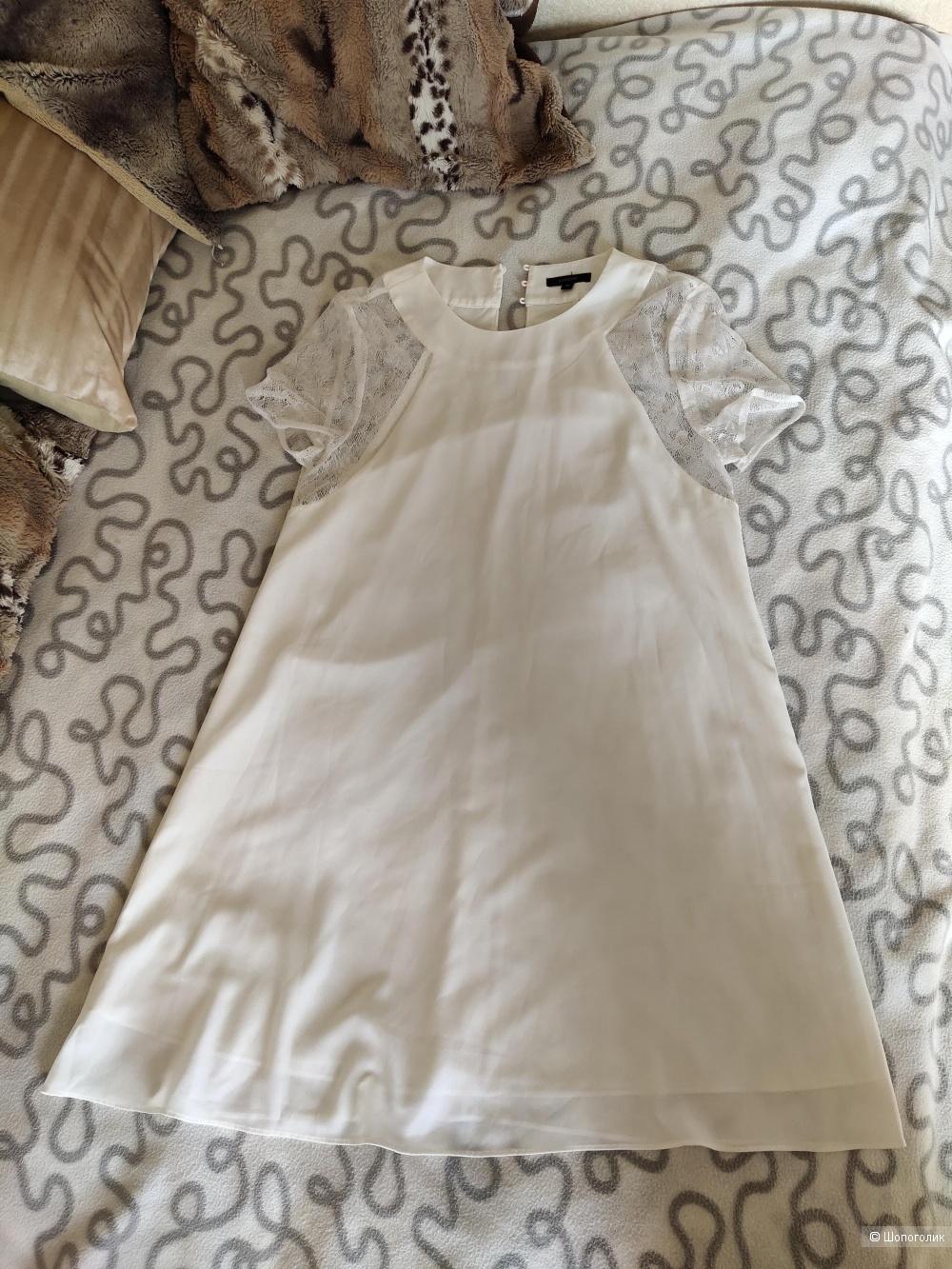 Платье Floryday р. 46 - белоснежное