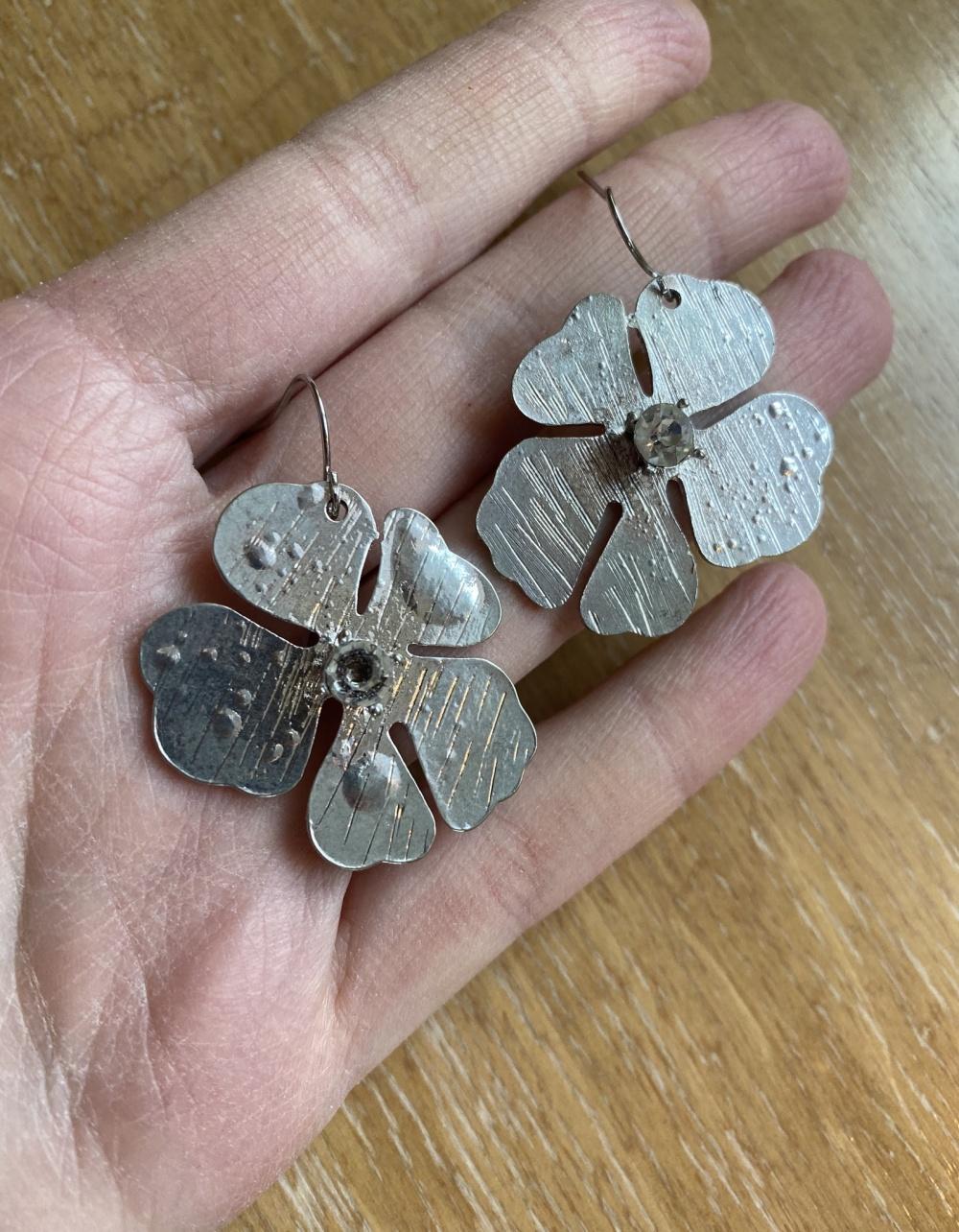 Серьги серебряные onesize