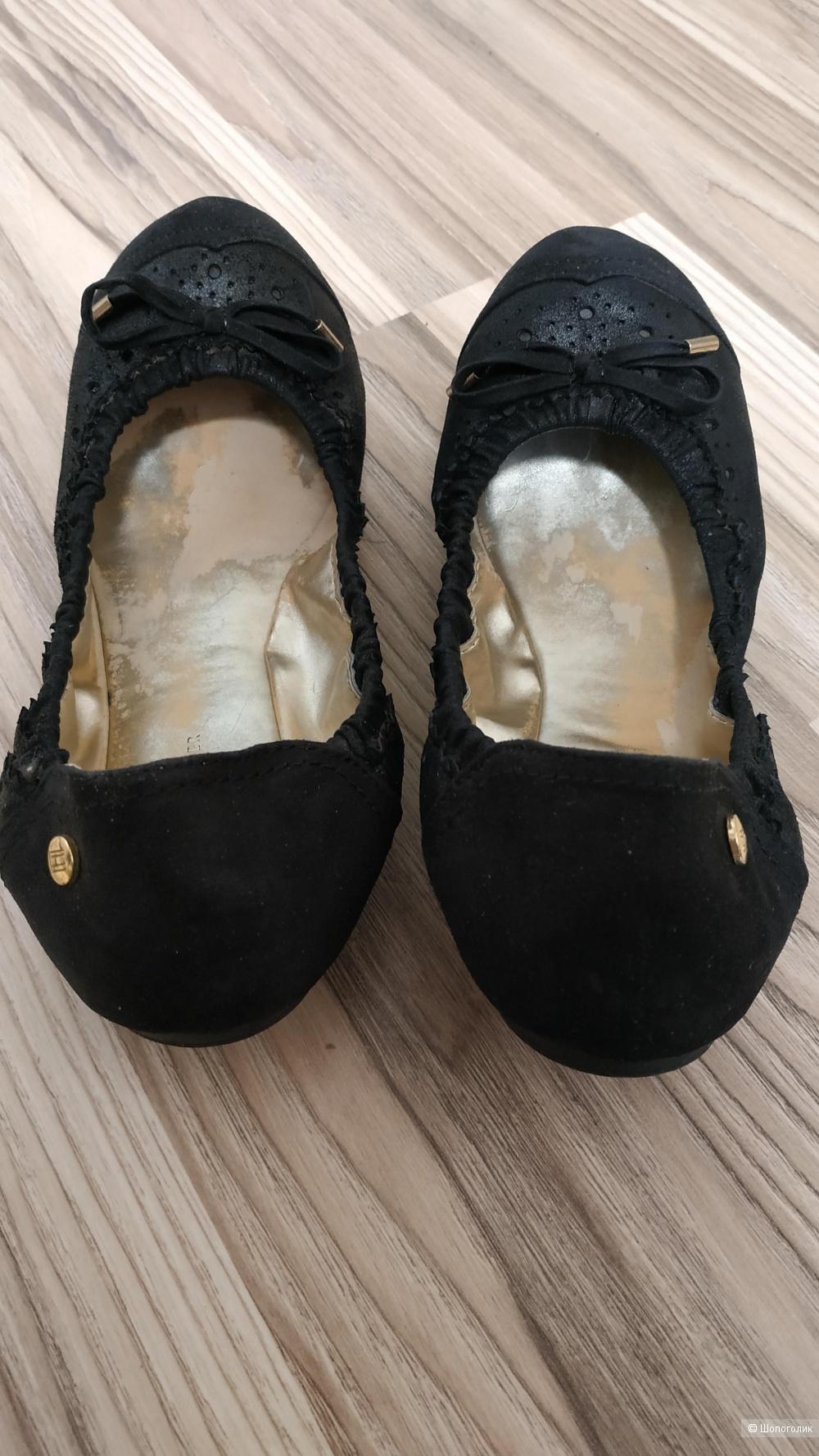 Балетки кожаные Tommy Hilfiger, размер 6-7