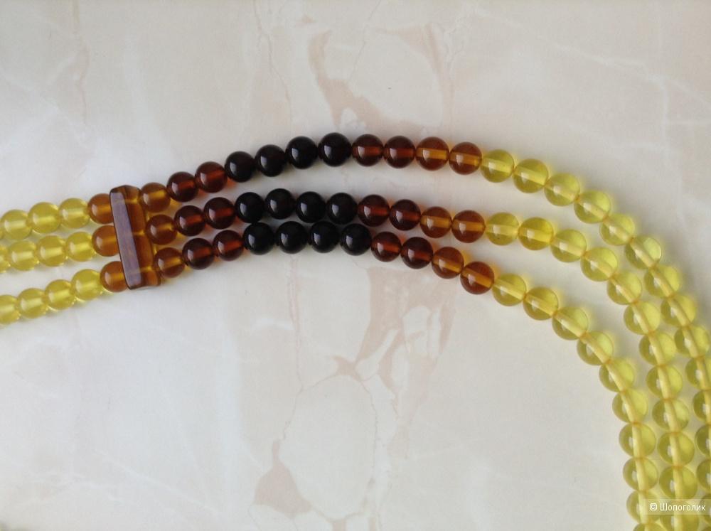 Ожерелье из янтаря, 41 см