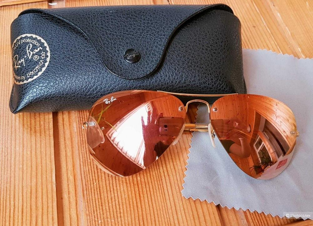 Солнцезащитные очки-авиаторы Ray-Ban 3449 001/2Y