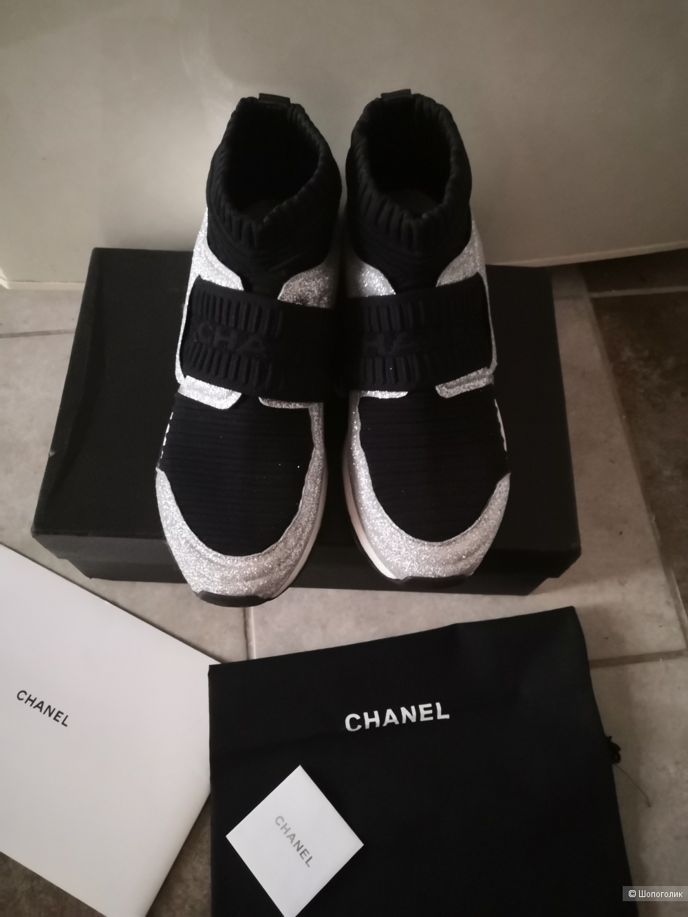 Кроссовки Chanel, размер 38-38,5