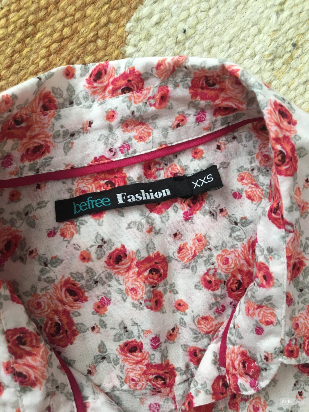 Рубашка  Fashion, размер 44-46 рос.