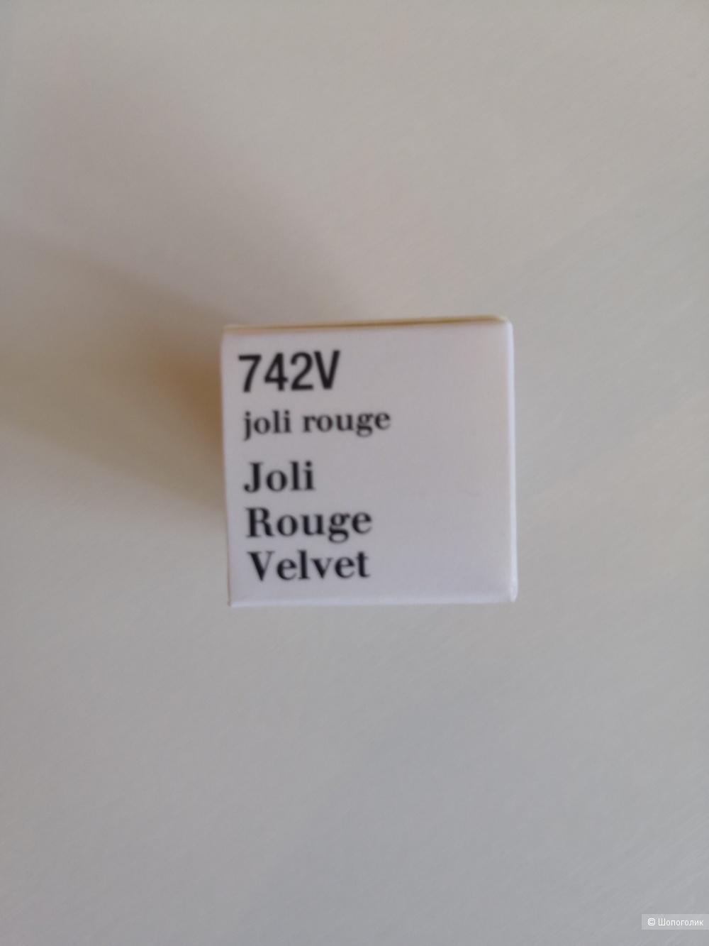 Губная помада Clarins Joli Rouge Velvet 742V 1,5 гр.