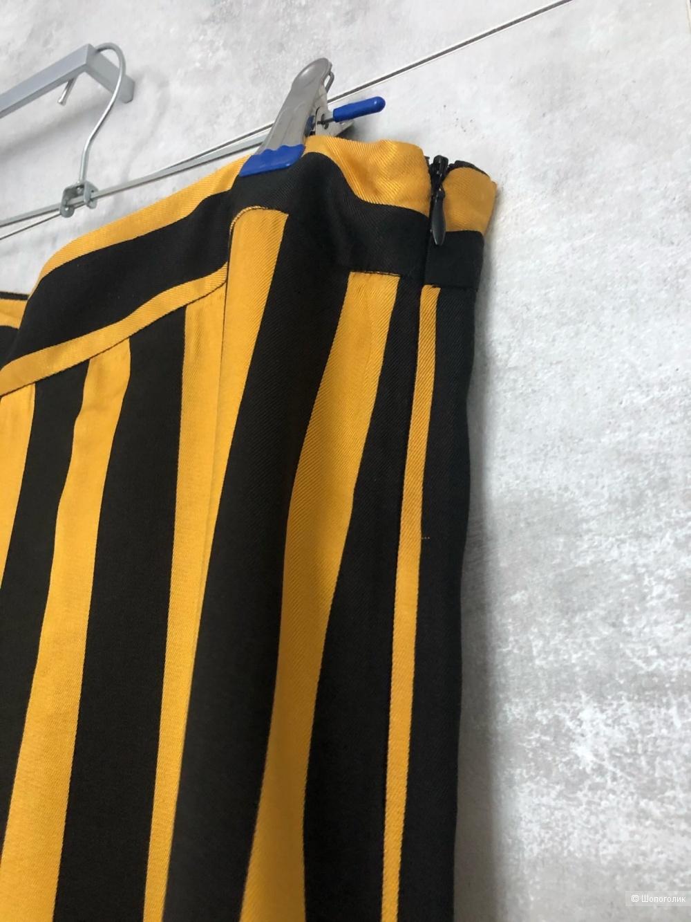 Широкие брюки в полоску ASOS DESIGN 36-38 eur
