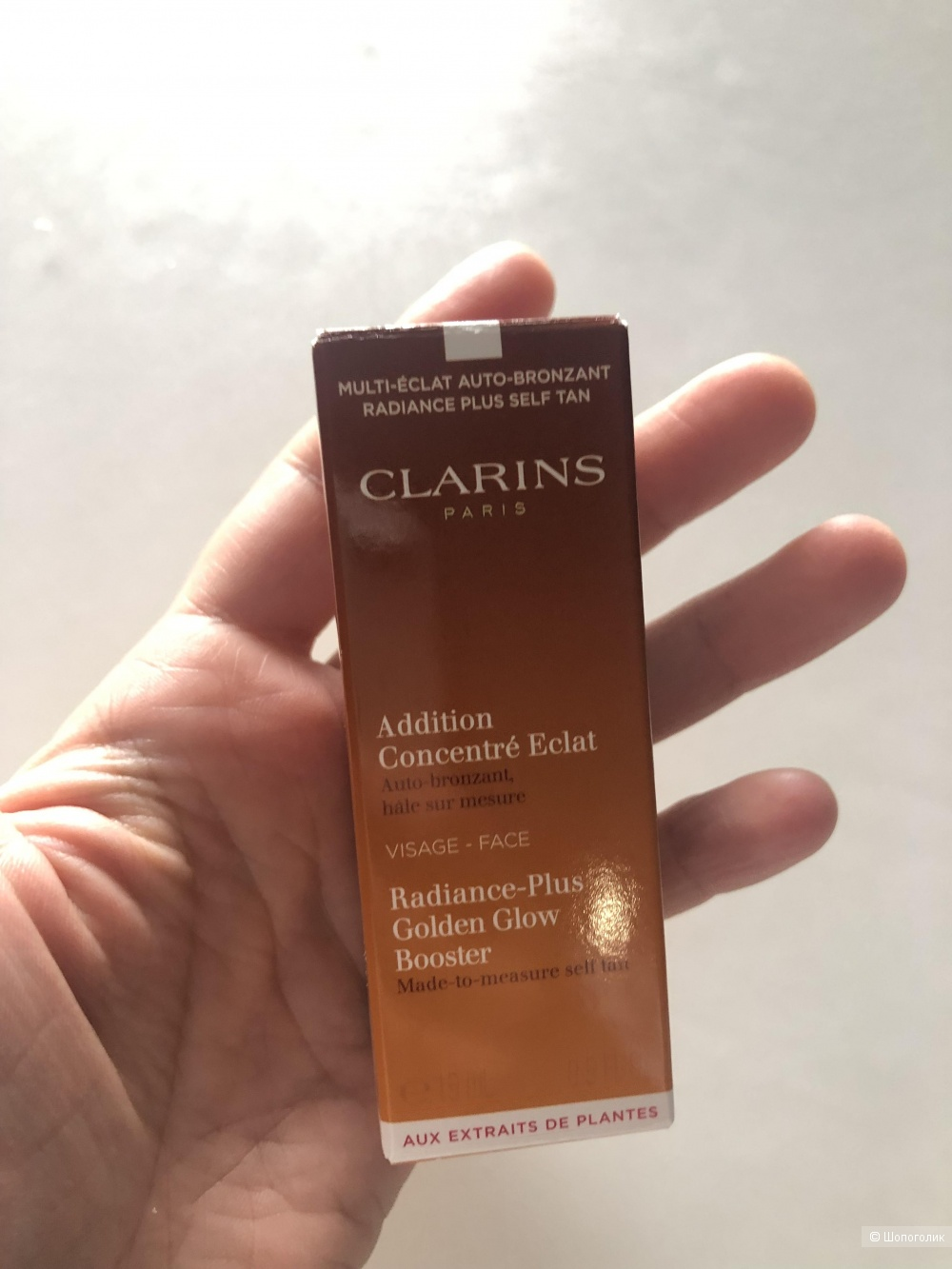 Clarins Концентрат для  загара лица