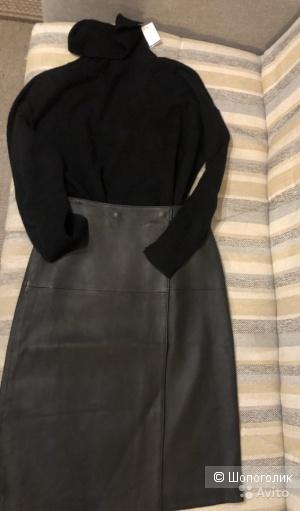 Кожаная юбка Iris & ink 14 Uk размера